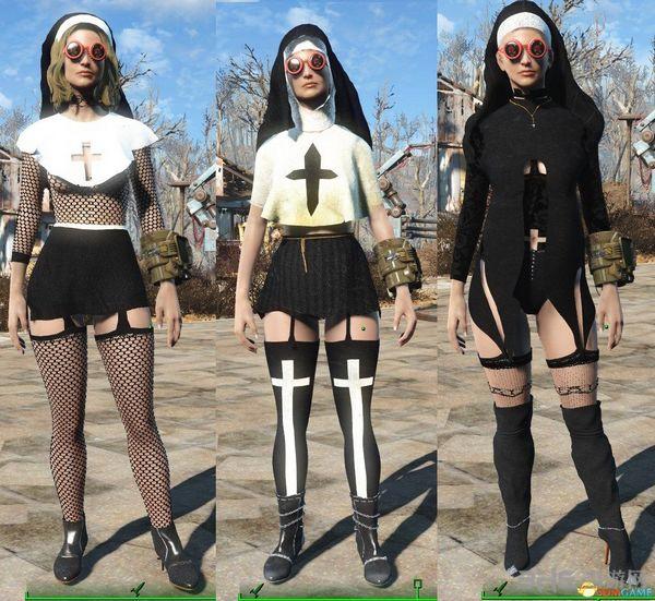辐射4性感修女服装MOD截图0