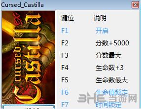 被诅咒的卡斯蒂利亚六项修改器截图0