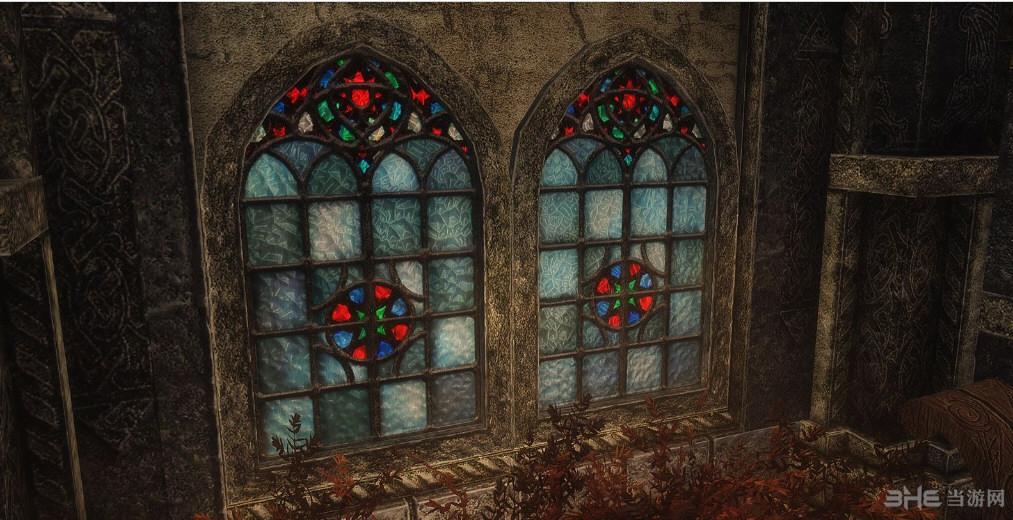 上古卷轴5:天际重制版质朴的窗户MOD截图0