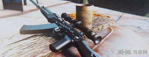 辐射4 6把卡拉什尼科夫突击步枪整合MOD截图2