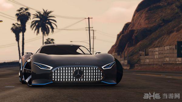 侠盗猎车手5梅赛德斯奔驰AMG Vision GT MOD截图0