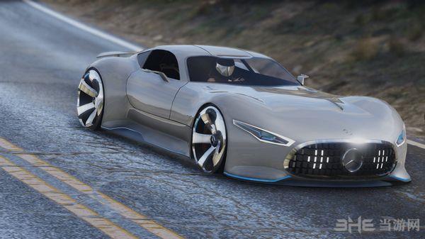 侠盗猎车手5梅赛德斯奔驰AMG Vision GT MOD截图1