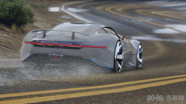 侠盗猎车手5梅赛德斯奔驰AMG Vision GT MOD截图2