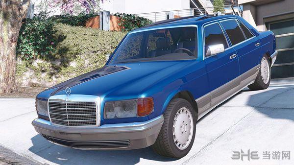 侠盗猎车手5 1990款梅赛德斯奔驰560sel w126 MOD截图0