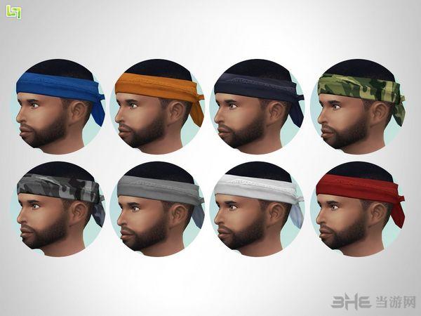 模拟人生4头巾(戒指下)MOD截图1