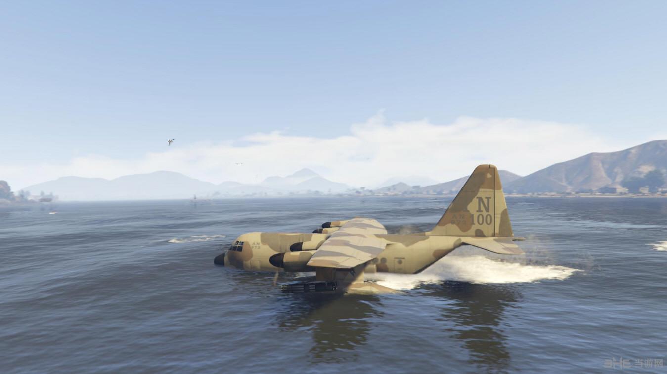 侠盗猎车5泰坦水陆两栖版运输机MOD截图2