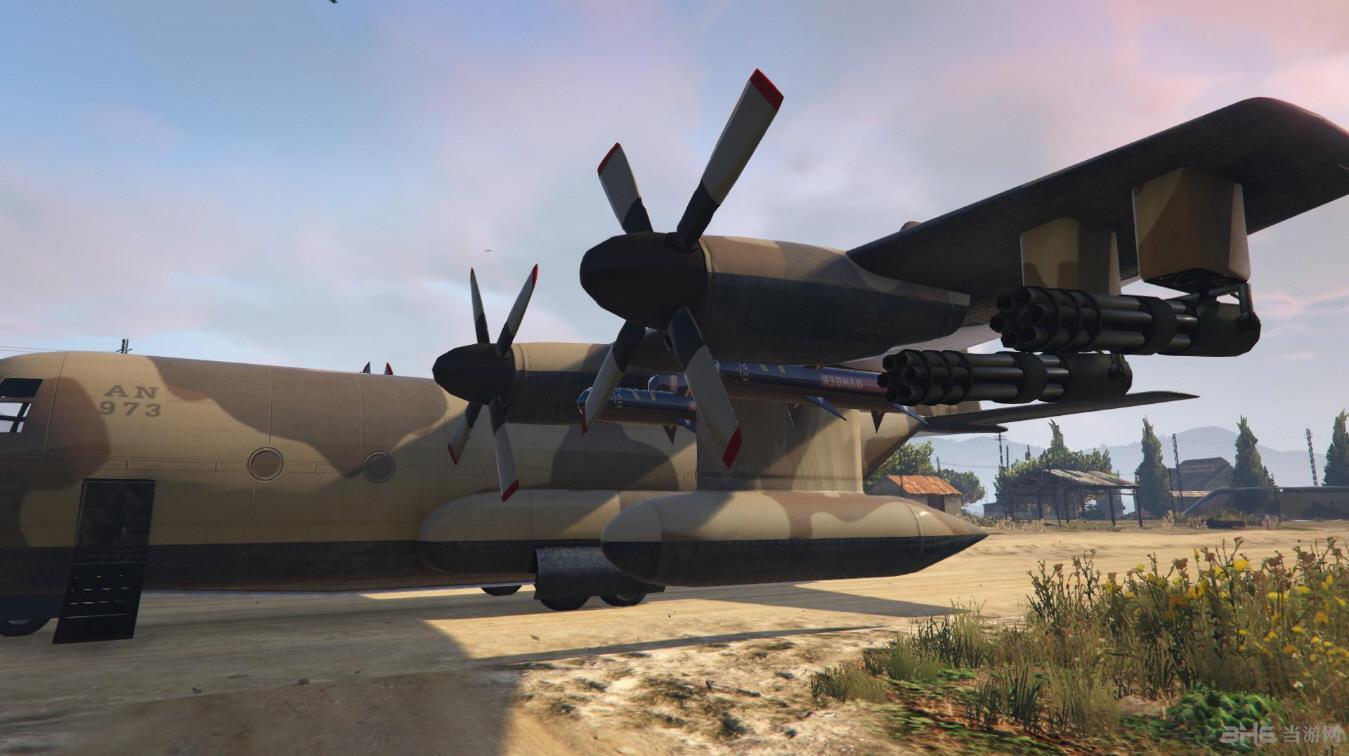侠盗猎车5泰坦水陆两栖版运输机MOD截图4