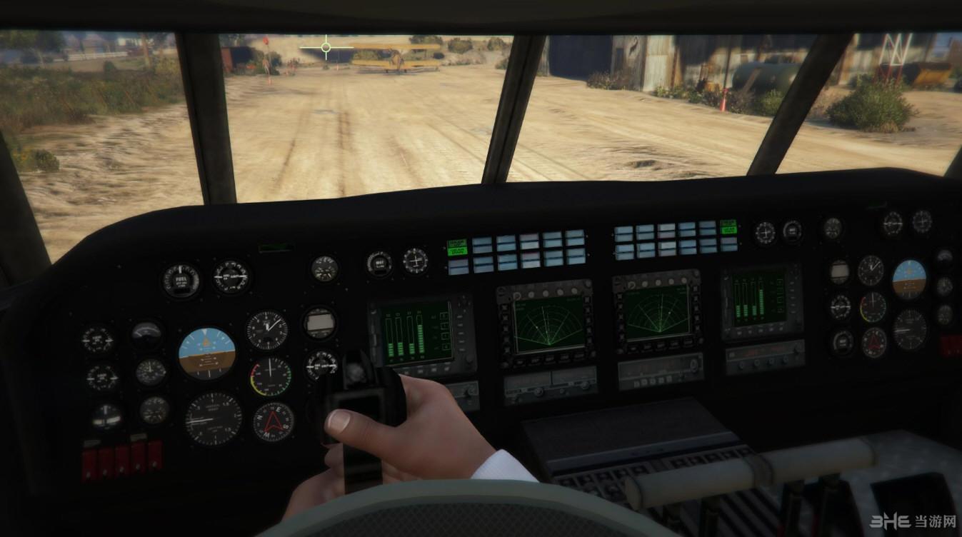 侠盗猎车5泰坦水陆两栖版运输机MOD截图5