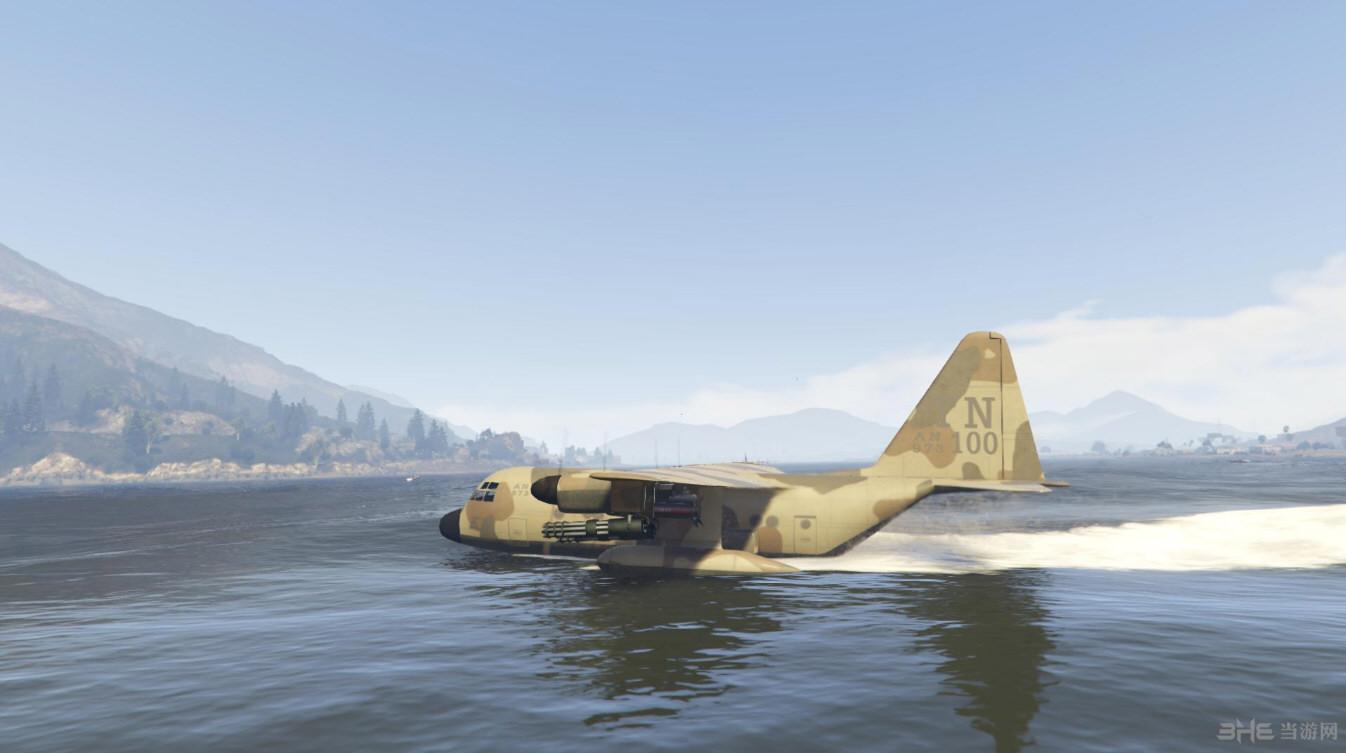 侠盗猎车5泰坦水陆两栖版运输机MOD截图1