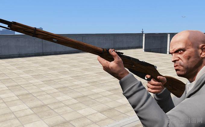 侠盗猎车5莫辛纳甘步枪武器MOD截图1