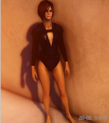 辐射4女性性感潜水衣MOD截图0
