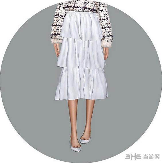 模拟人生4英式三重裙子MOD截图0