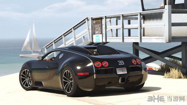 侠盗猎车手5布加迪Veyron Sang Noir MOD截图1