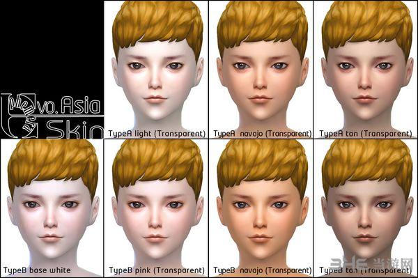 模拟人生4脸部综合包MOD截图1