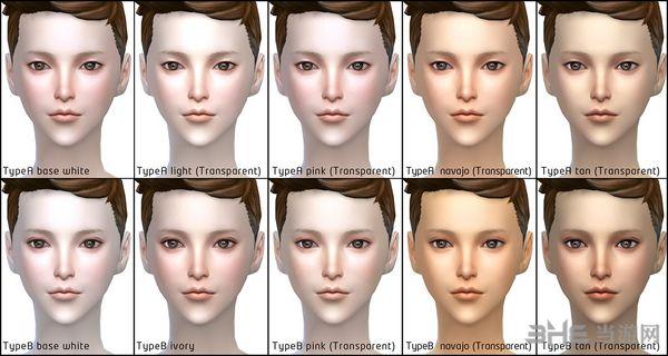 模拟人生4脸部综合包MOD截图2