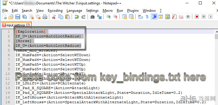 巫师3:狂猎自动拾取及菜单设置选项MOD截图0