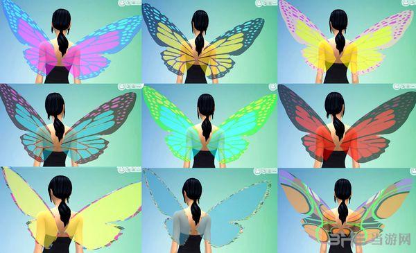 模拟人生4多款蝴蝶翅膀MOD截图0