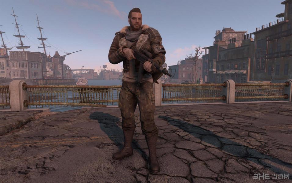 辐射4原版服装迷彩配色MOD截图0