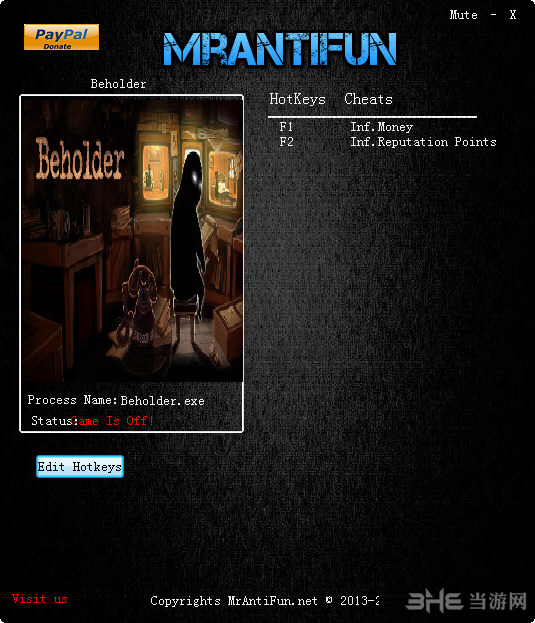 监视者两项修改器MrAntiFun版截图0