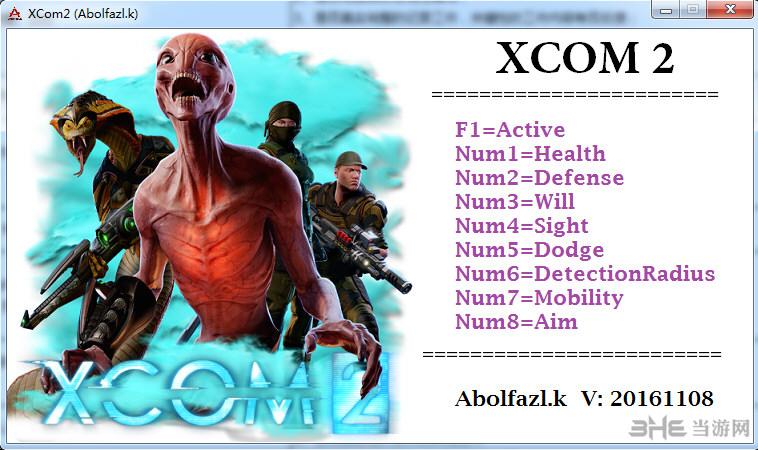 幽浮2八项修改器Abolfazl.k版截图0