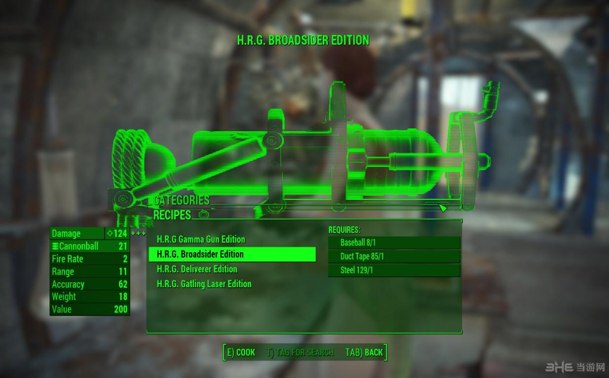 辐射4本垒打枪MOD截图2