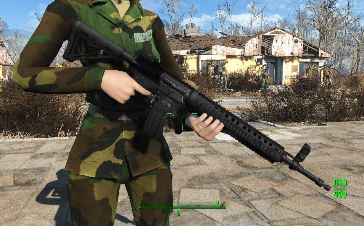 辐射4现代枪械MOD截图0