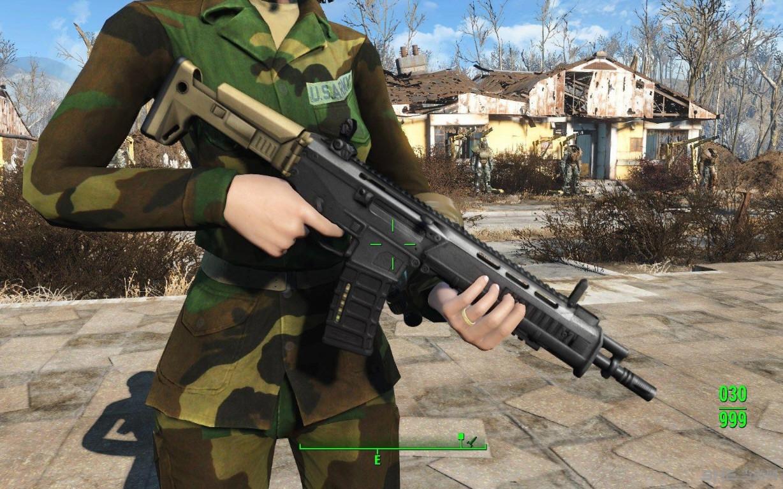 辐射4现代枪械MOD截图1