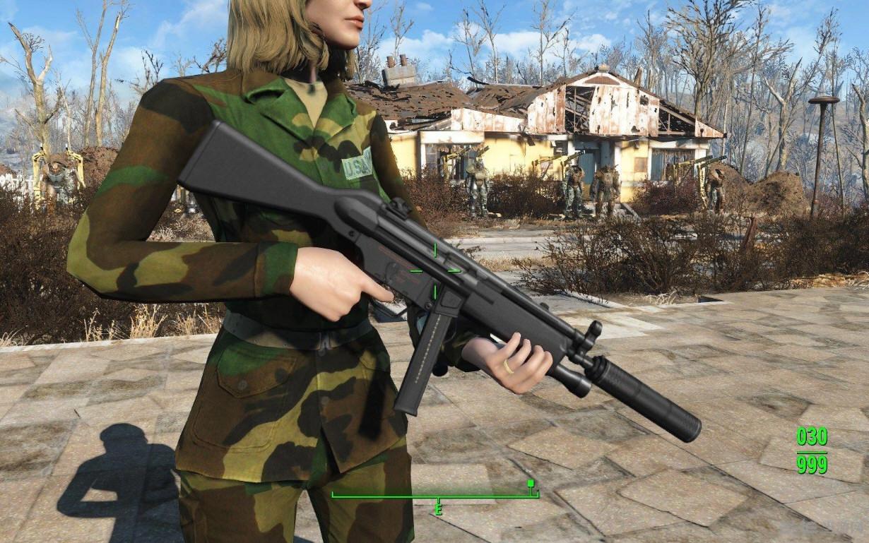 辐射4现代枪械MOD截图2