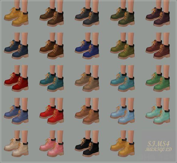 模拟人生4 24色洋装女鞋MOD截图1