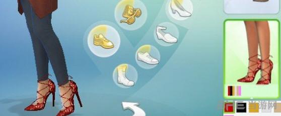 模拟人生4绑带高跟鞋MOD截图0
