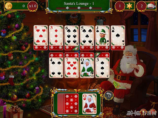 圣诞老人的圣诞接龙截图0