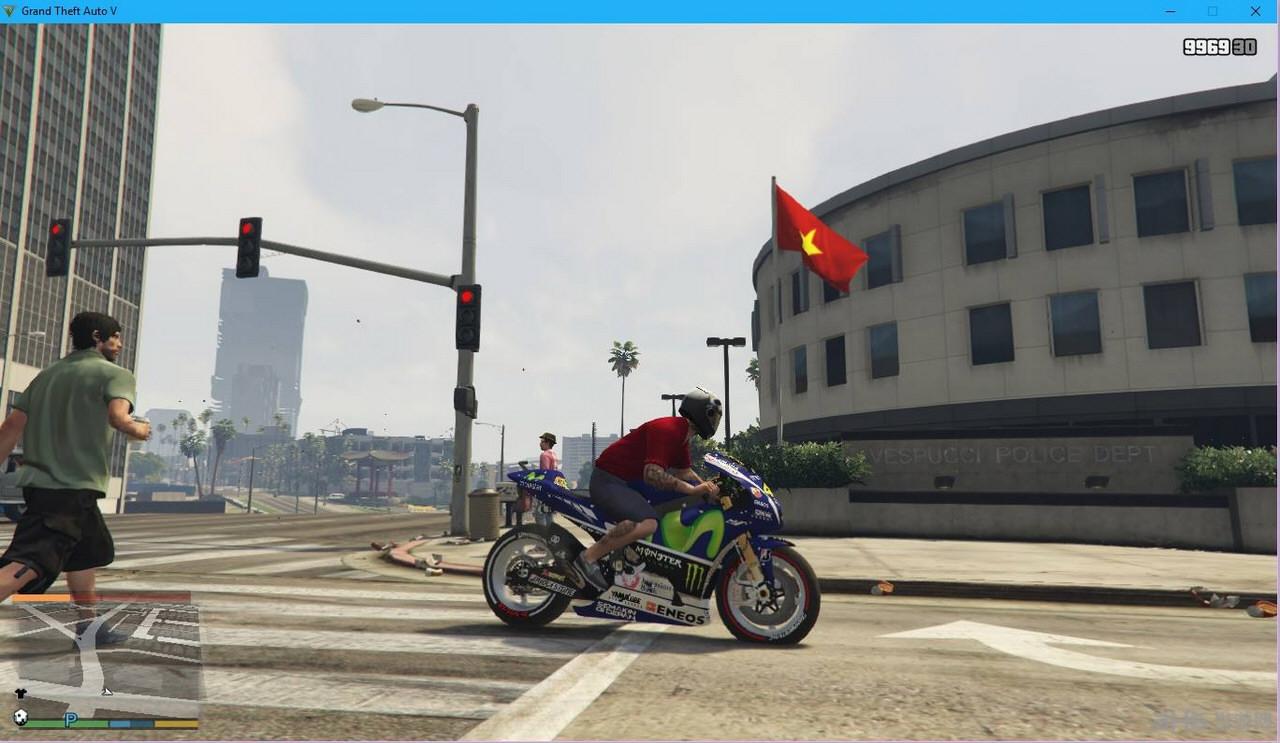 侠盗猎车手5越南国旗MOD截图0