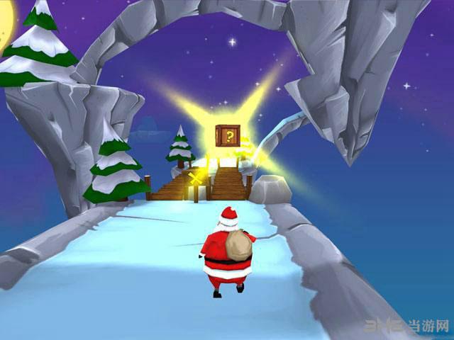 与圣诞老人一起奔跑截图1