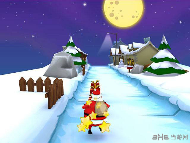 与圣诞老人一起奔跑截图0