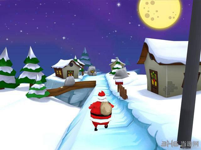 与圣诞老人一起奔跑截图2