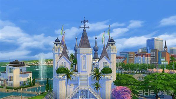 模拟人生4冰雪城堡升级版MOD截图0