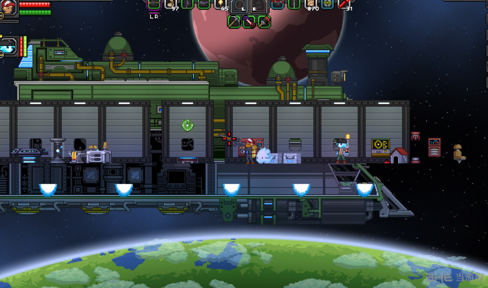 星界边境改变星之子飞船MOD截图1