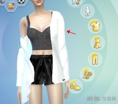模拟人生4漂亮女装外套MOD截图0