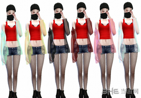 模拟人生4漂亮女装外套MOD截图2