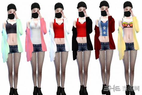 模拟人生4漂亮女装外套MOD截图3