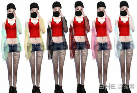 模拟人生4漂亮女装外套MOD截图4