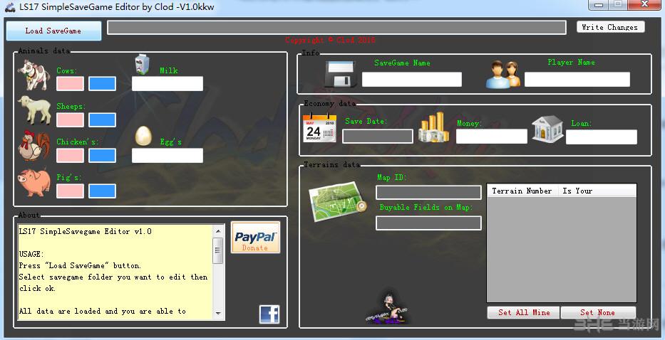 模拟农场17多项存档修改器截图0