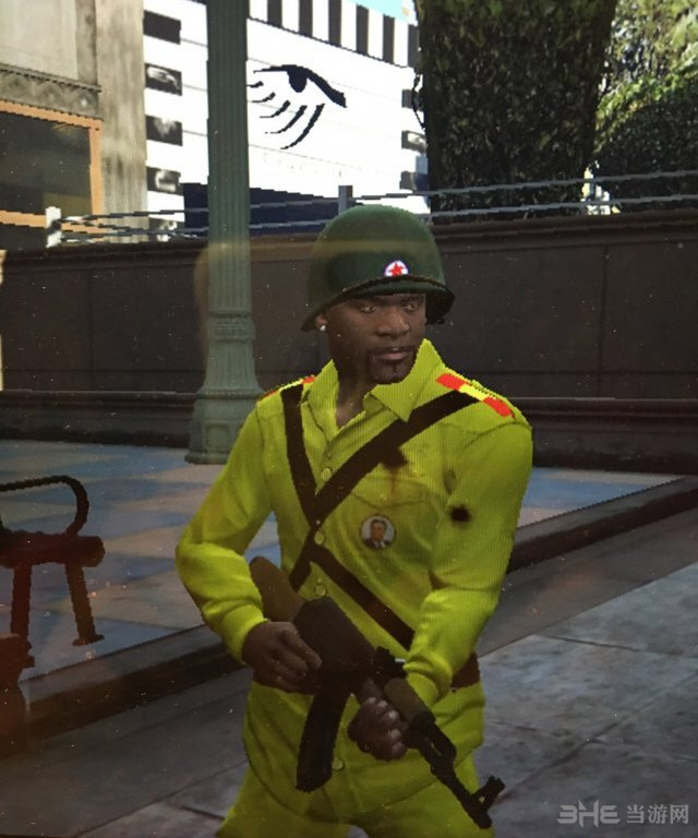 侠盗猎车手5小富的朝鲜军装MOD截图0