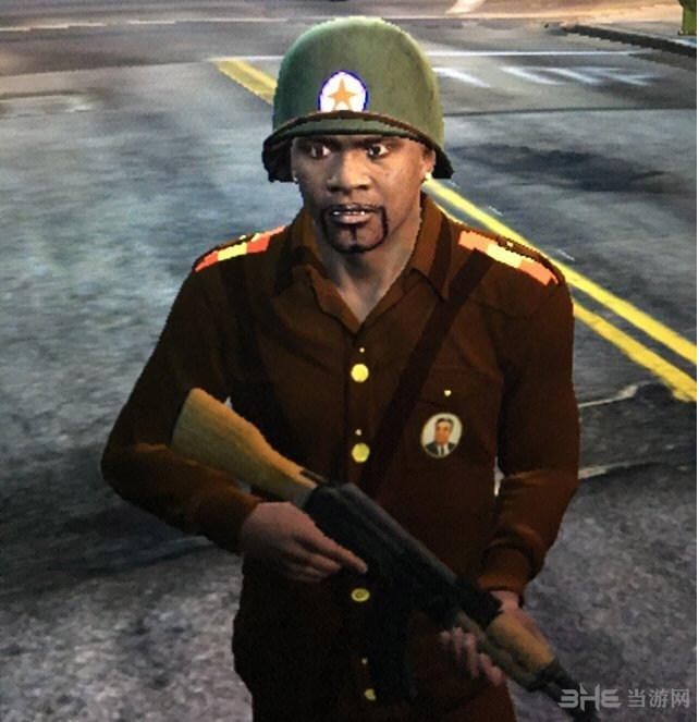 侠盗猎车手5小富的朝鲜军装MOD截图1