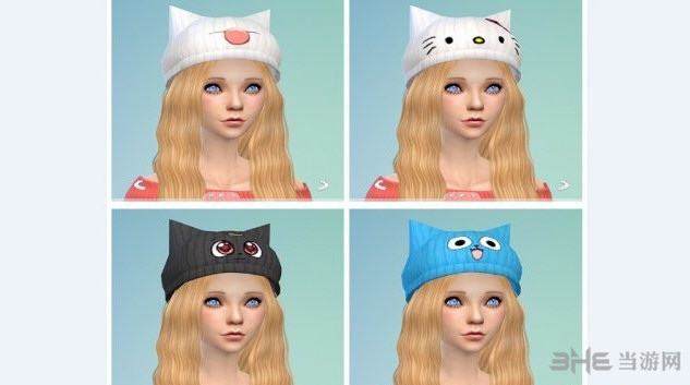 模拟人生4萌妹帽子(智乃的兔子)MOD截图0