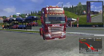 欧洲卡车模拟2斯堪尼亚T冬天皮肤MOD截图0