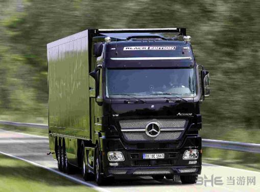 欧洲卡车模拟2奔驰LS1934车MOD截图0