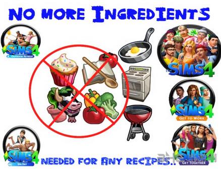 模拟人生4做菜不需原材料MOD截图0