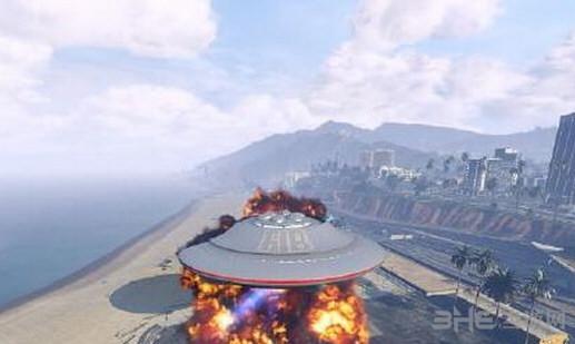 侠盗猎车手5 UFO MOD截图0