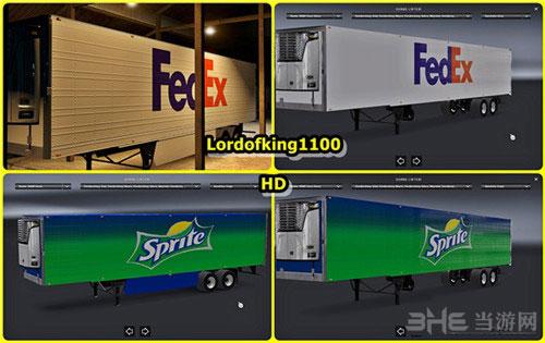 美国卡车模拟国际拖车皮肤包MOD截图1